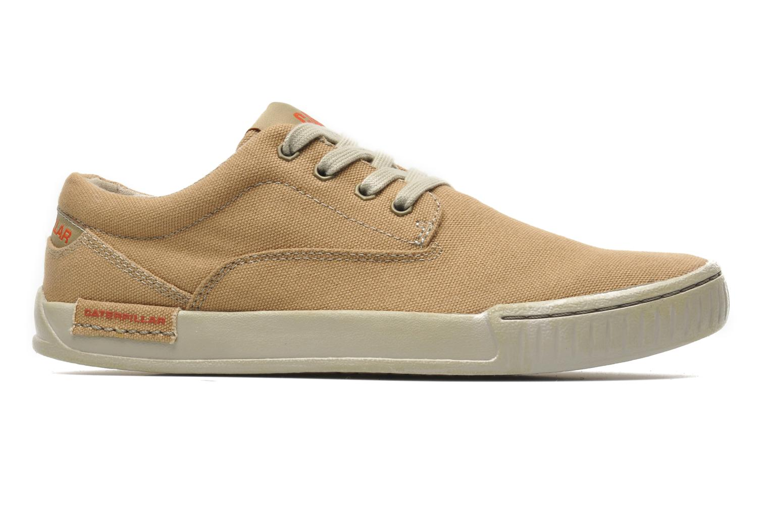 Sneakers Caterpillar Zimzala canvas Beige achterkant