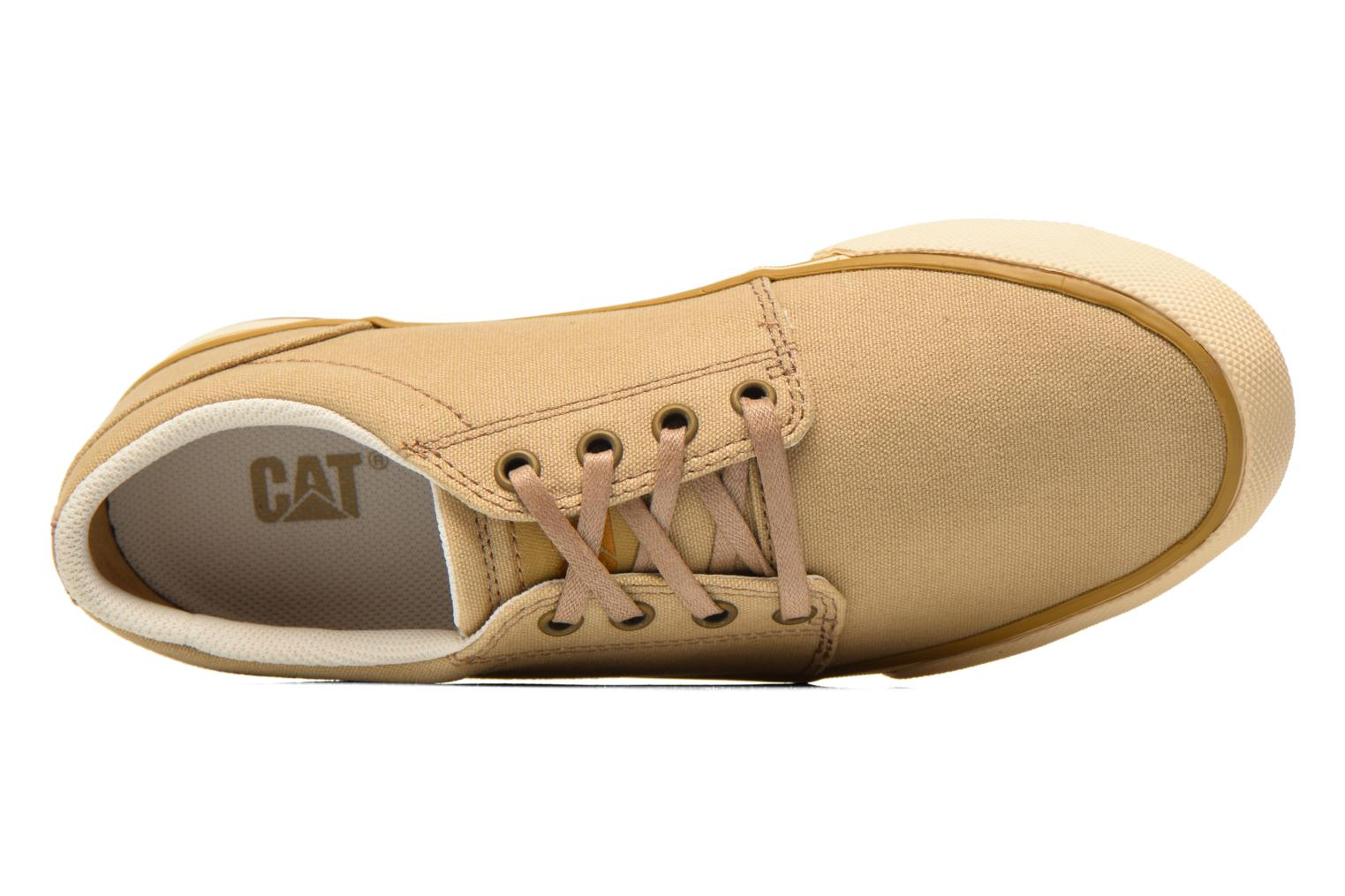 Sneaker Caterpillar Esteem canvas beige ansicht von links