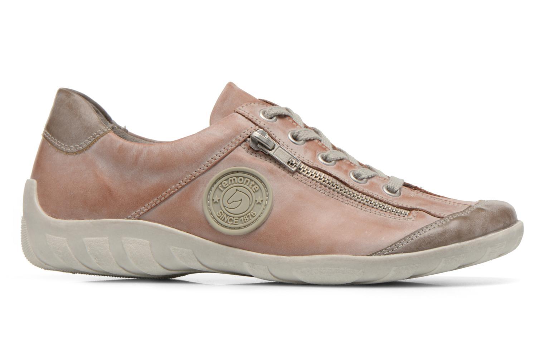 Sneaker Remonte Quinn R3408 rosa ansicht von hinten