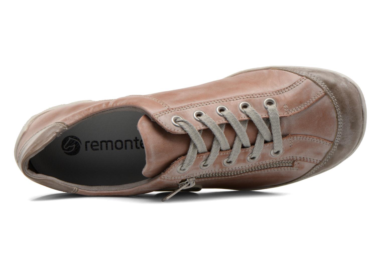 Sneaker Remonte Quinn R3408 rosa ansicht von links