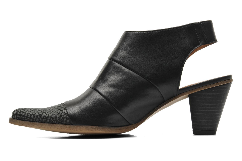 Bottines et boots Karston Kzultan Noir vue face