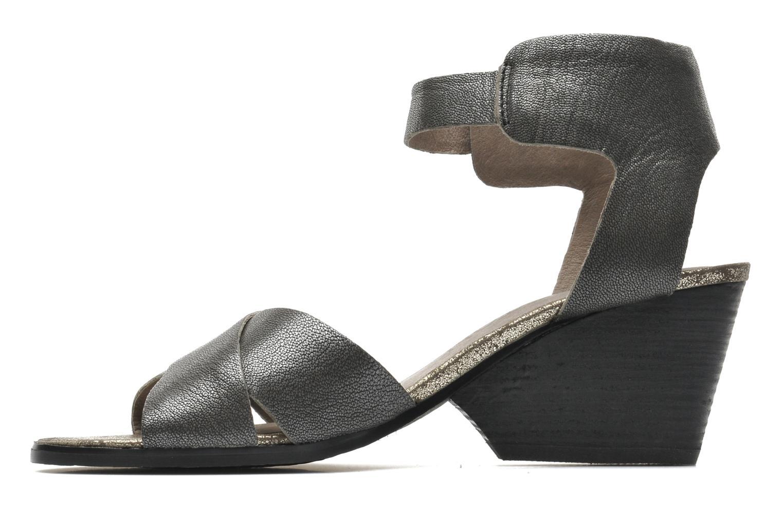 Sandales et nu-pieds Karston Tobic Gris vue face