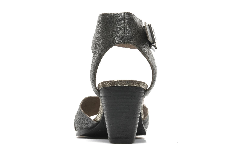 Sandales et nu-pieds Karston Tobic Gris vue droite