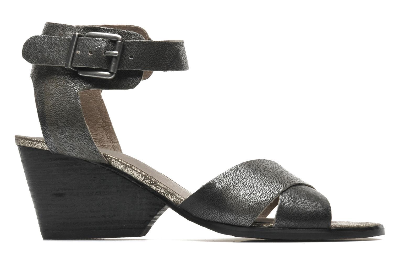 Sandalen Karston Tobic grau ansicht von hinten