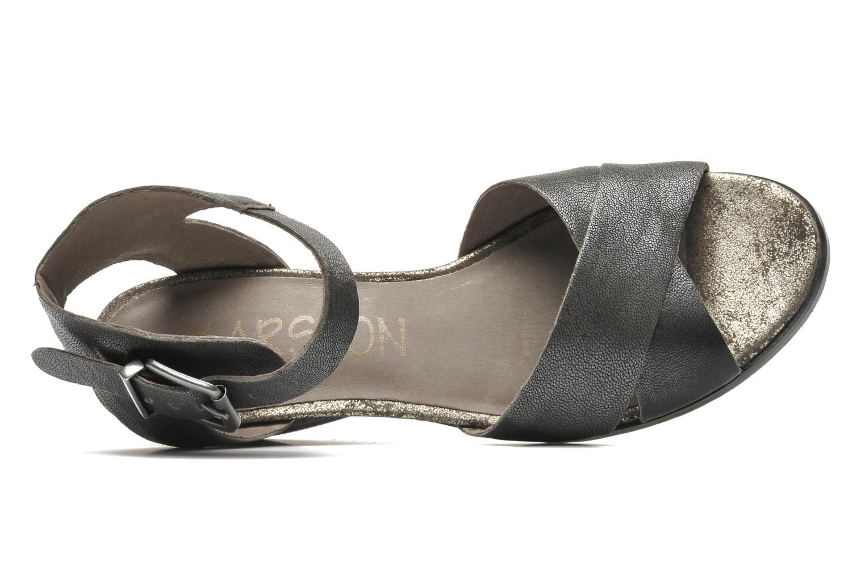 Sandalen Karston Tobic grau ansicht von links