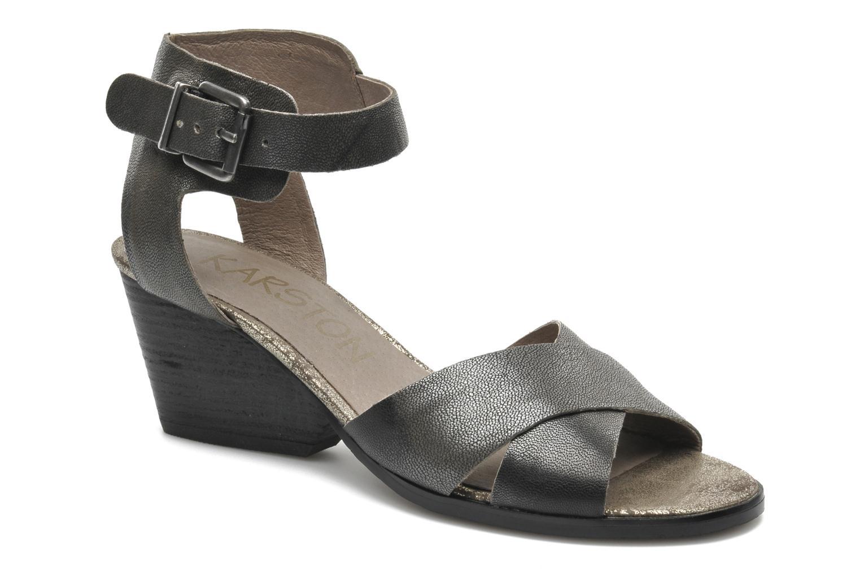 Sandales et nu-pieds Karston Tobic Gris vue détail/paire