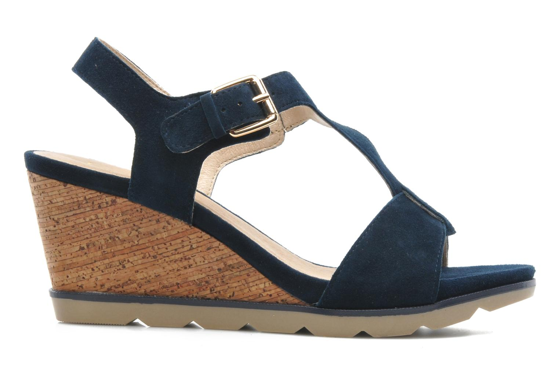 Sandales et nu-pieds Lotus Mirror Bleu vue derrière