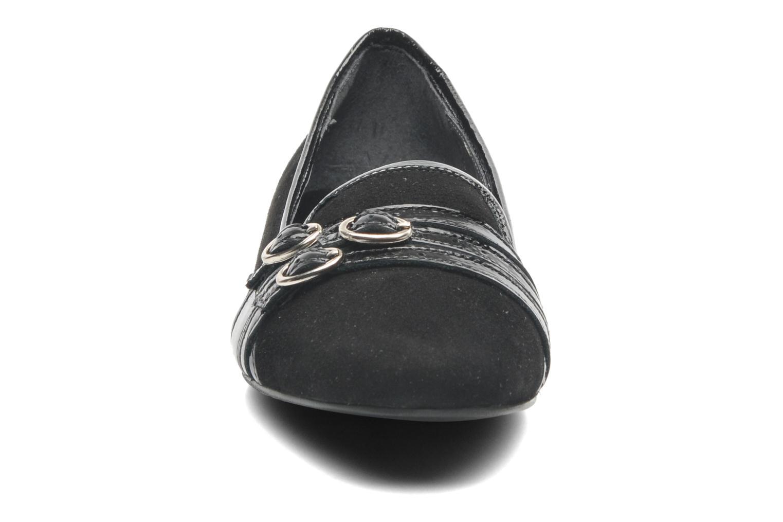 Mocassins Jonak Déjà Noir vue portées chaussures