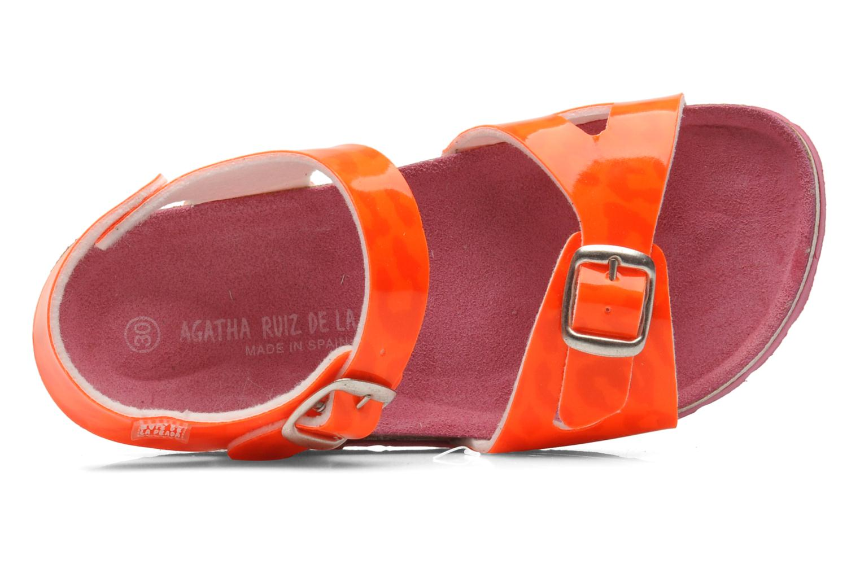 Sandali e scarpe aperte Agatha Ruiz de la Prada Dominica Arancione immagine sinistra