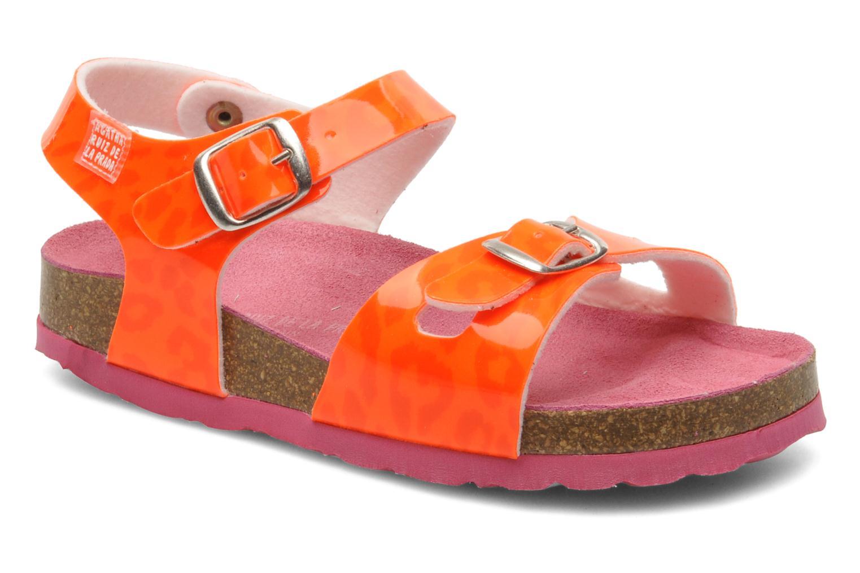 Sandalias Agatha Ruiz de la Prada Dominica Naranja vista de detalle / par