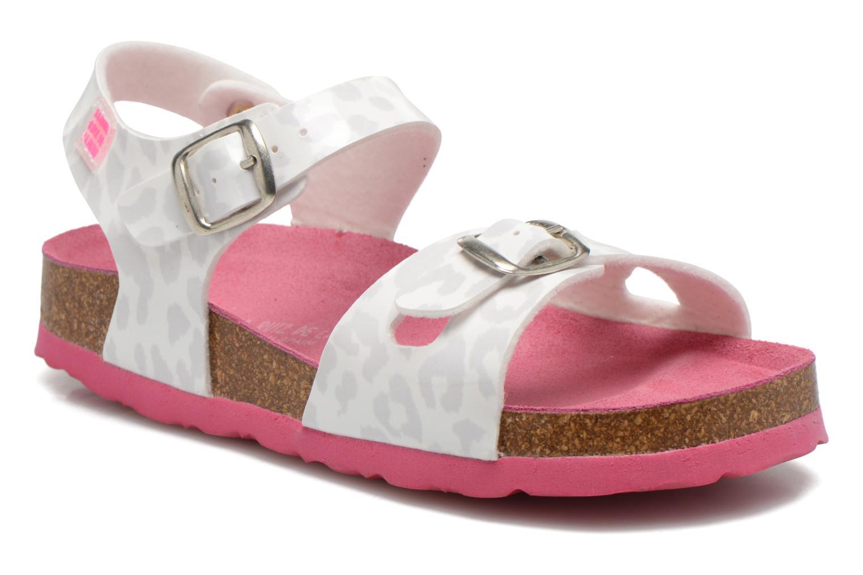 Sandales et nu-pieds Agatha Ruiz de la Prada Dominica Blanc vue détail/paire