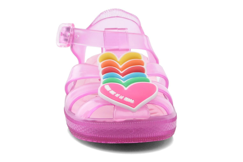 Sandales et nu-pieds Agatha Ruiz de la Prada Edilma Rose vue portées chaussures