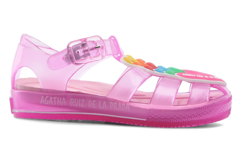 Sandalen Agatha Ruiz de la Prada Edilma rosa ansicht von hinten