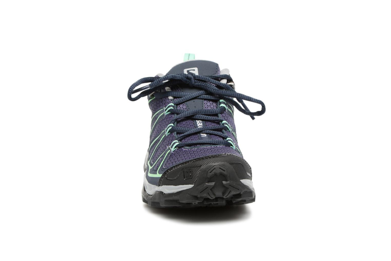 Chaussures de sport Salomon X Ultra Prime W Bleu vue portées chaussures