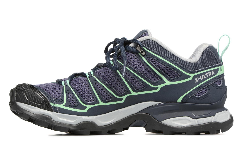 Chaussures de sport Salomon X Ultra Prime W Bleu vue face