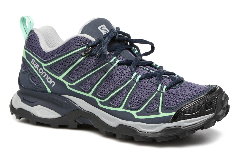 Chaussures de sport Salomon X Ultra Prime W Bleu vue détail/paire