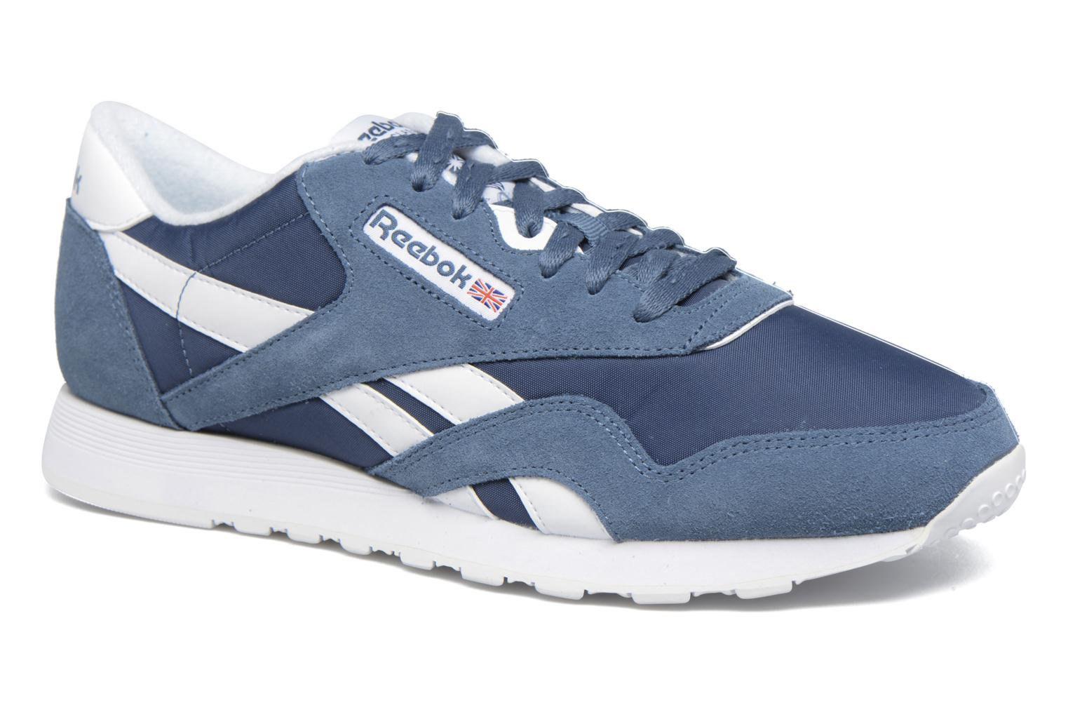 Trainers Reebok Classic Nylon Blue detailed view/ Pair view