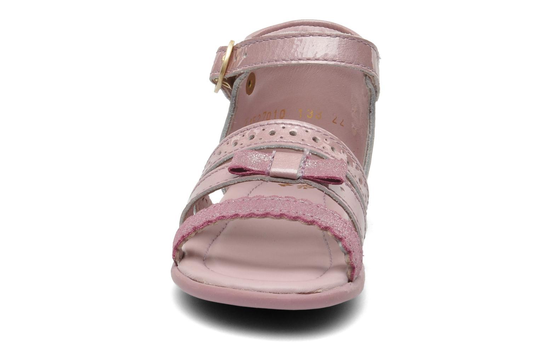 Sandales et nu-pieds Aster LINE Rose vue portées chaussures