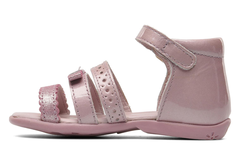 Sandalen Aster LINE rosa ansicht von vorne