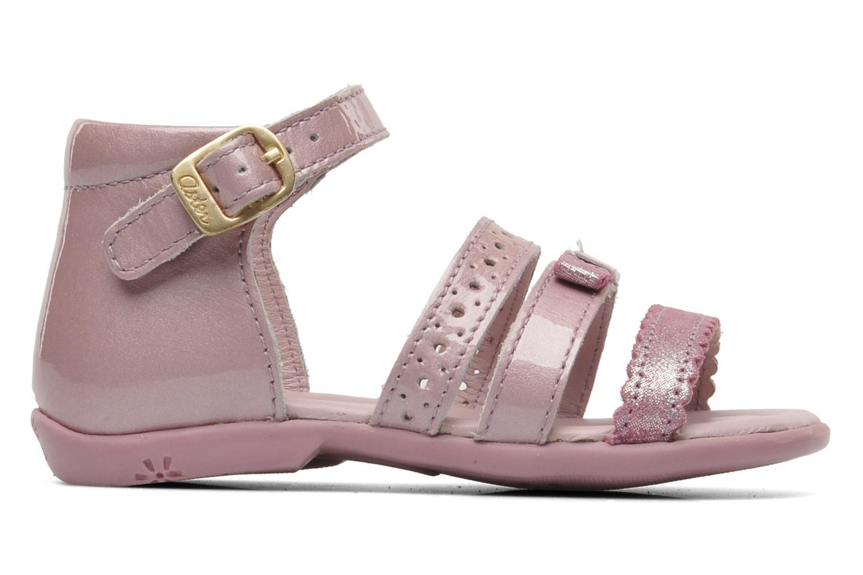 Sandales et nu-pieds Aster LINE Rose vue derrière
