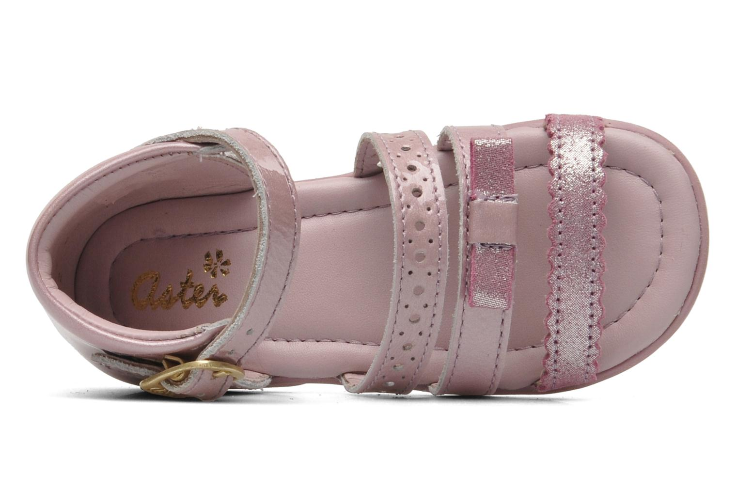 Sandals Aster LINE Pink view from the left