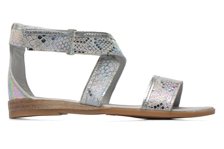 Sandali e scarpe aperte Mod8 Joyce Argento immagine posteriore