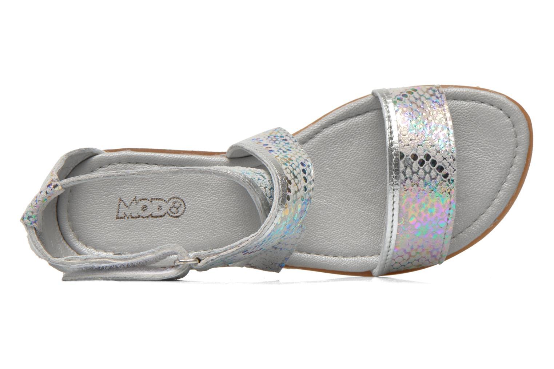Sandali e scarpe aperte Mod8 Joyce Argento immagine sinistra