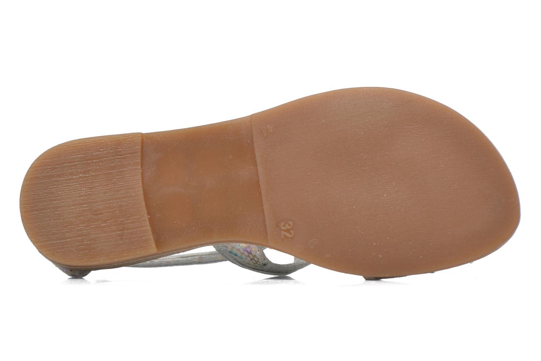 Sandali e scarpe aperte Mod8 Joyce Argento immagine dall'alto