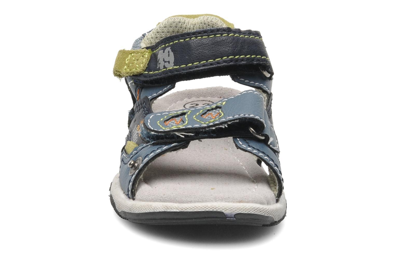 Sandales et nu-pieds Bopy CAMIPAKI KOUKI Bleu vue portées chaussures