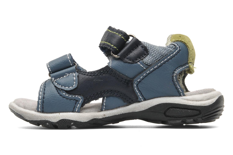 Sandales et nu-pieds Bopy CAMIPAKI KOUKI Bleu vue face