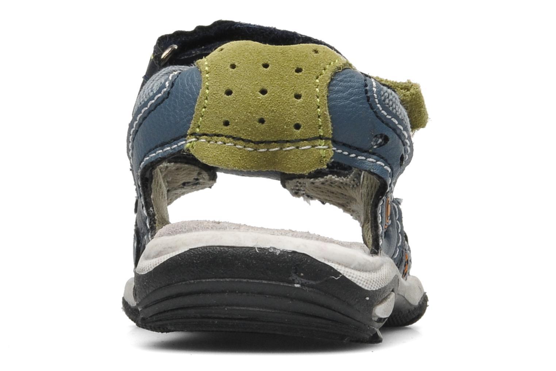 Sandaler Bopy CAMIPAKI KOUKI Blå Bild från höger sidan