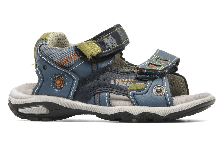 Sandales et nu-pieds Bopy CAMIPAKI KOUKI Bleu vue derrière