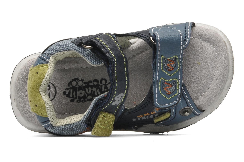 Sandaler Bopy CAMIPAKI KOUKI Blå bild från vänster sidan