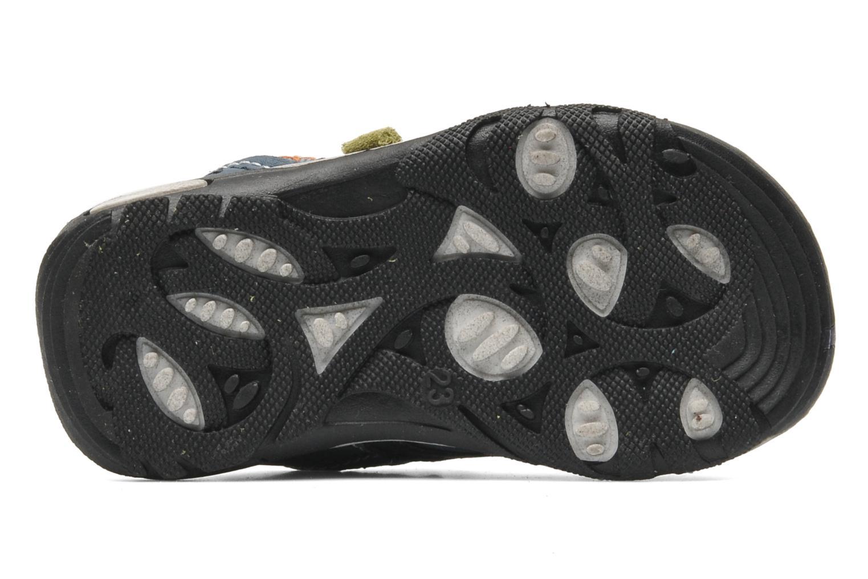 Sandales et nu-pieds Bopy CAMIPAKI KOUKI Bleu vue haut