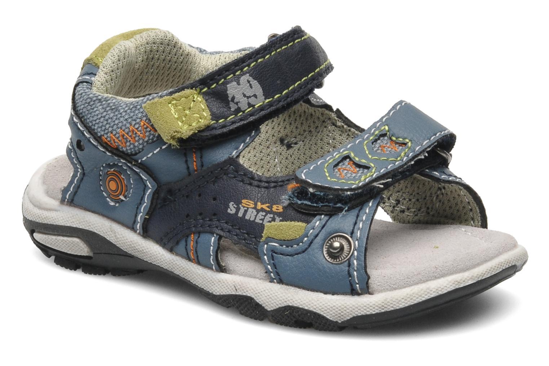 Sandaler Bopy CAMIPAKI KOUKI Blå detaljerad bild på paret