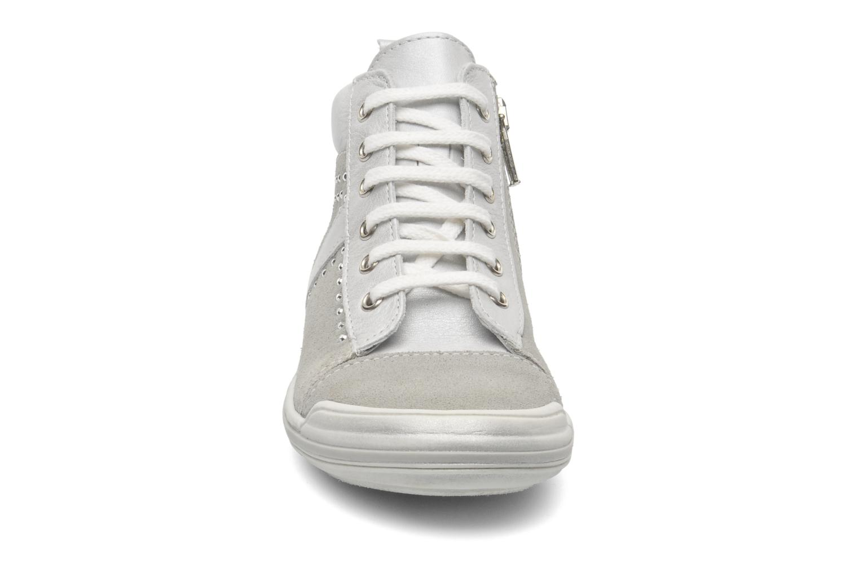 Baskets Bopy SABRINA Gris vue portées chaussures
