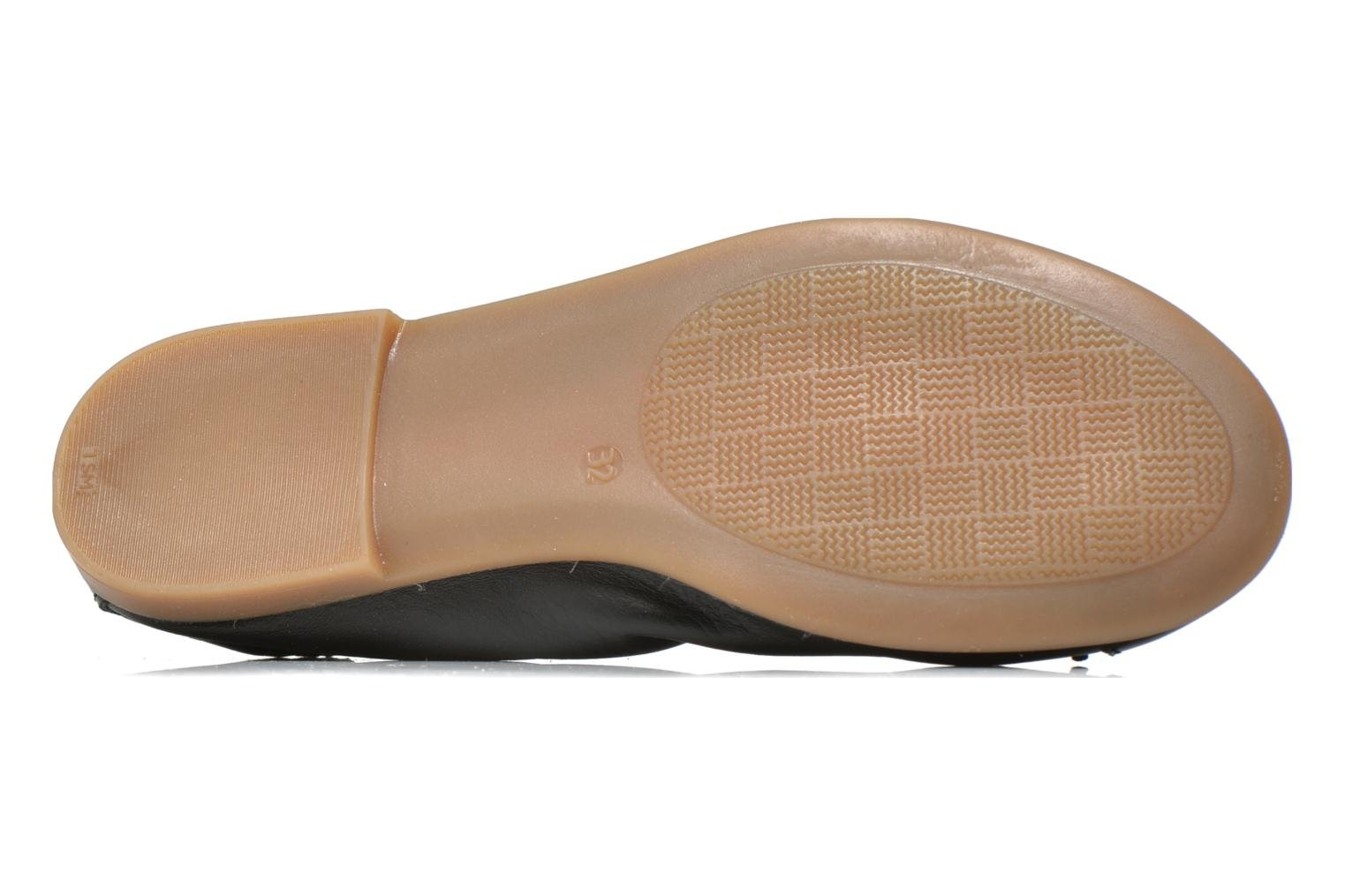 Ballet pumps Bopy SOLFEGE Black view from above