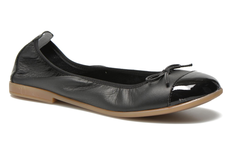 Ballerinaer Bopy SOLFEGE Sort detaljeret billede af skoene