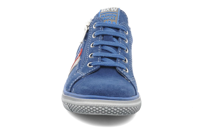 Baskets Bopy VERDOBA Bleu vue portées chaussures
