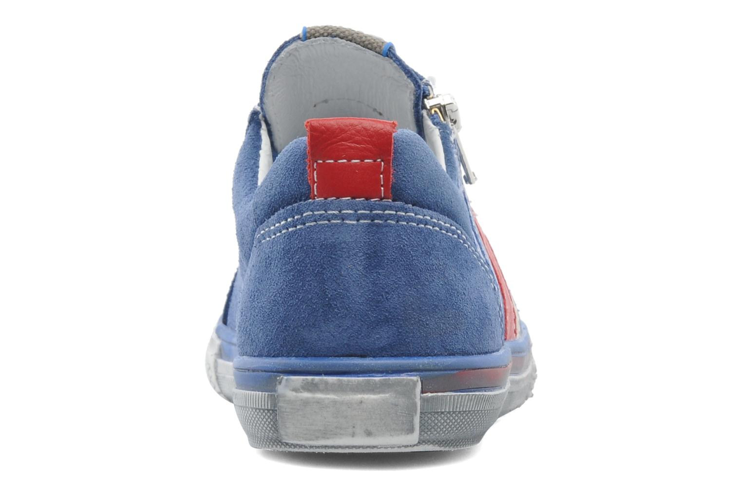 Trainers Bopy VERDOBA Blue view from the right