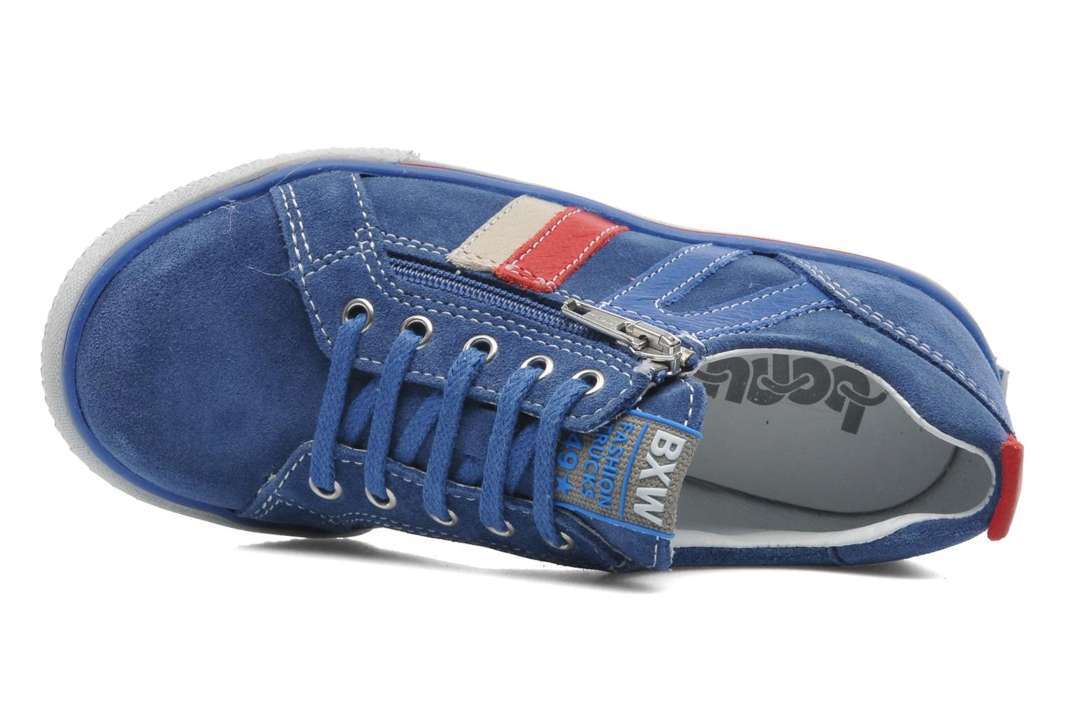 Trainers Bopy VERDOBA Blue view from the left