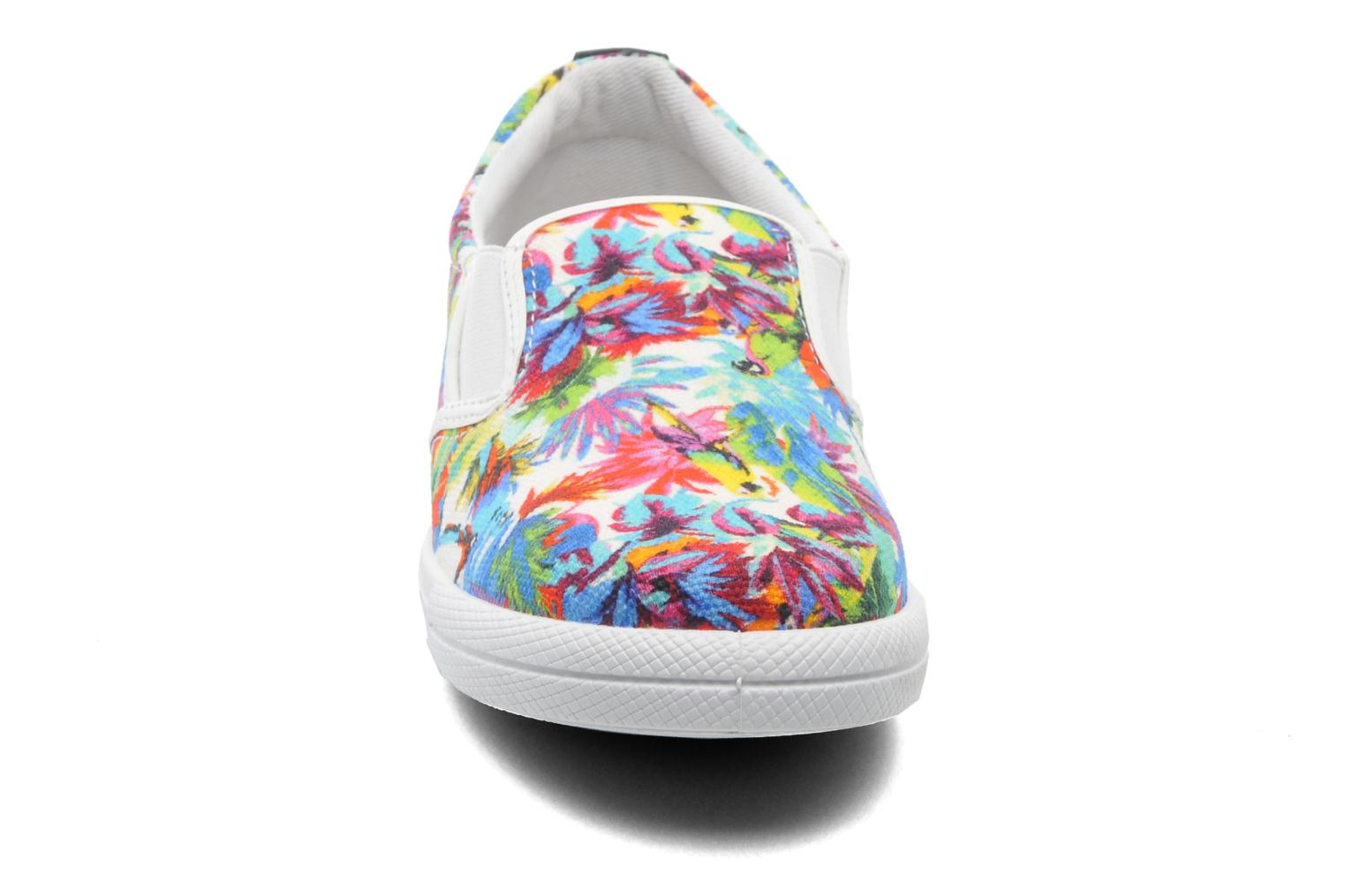 Baskets Love Moschino Love Taila Multicolore vue portées chaussures
