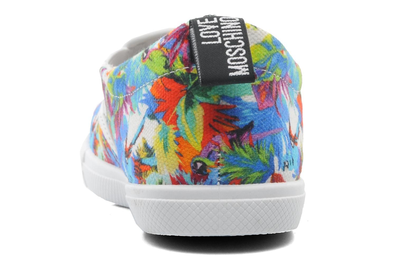 Baskets Love Moschino Love Taila Multicolore vue droite