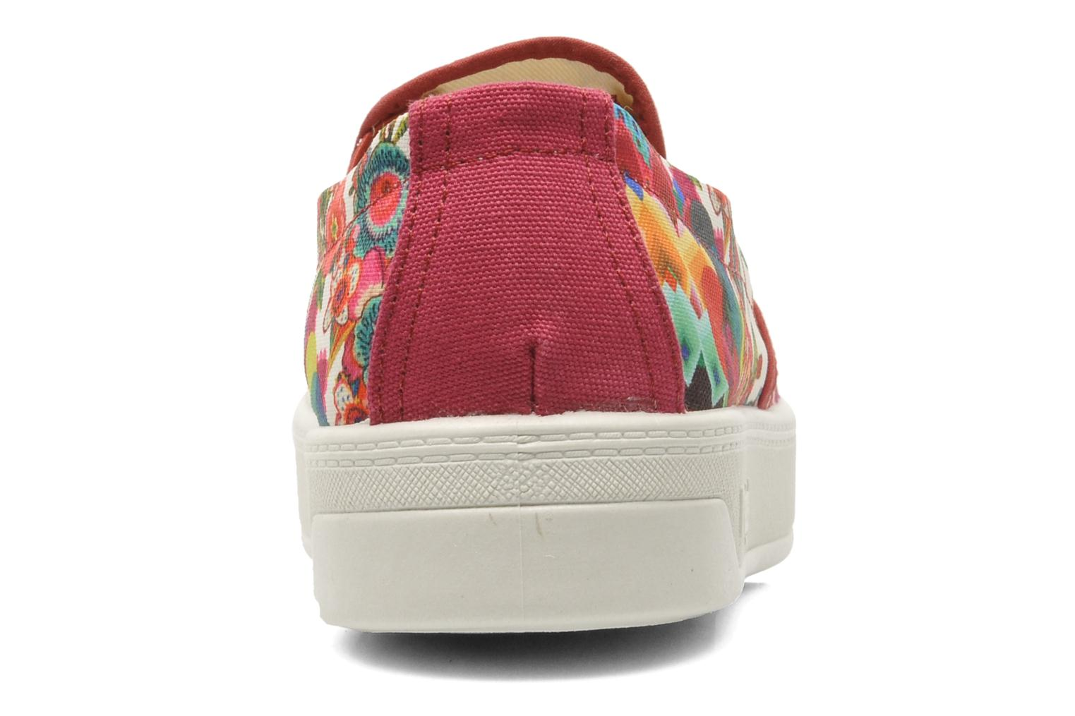 Trainers Desigual Camilla Multicolor view from the right