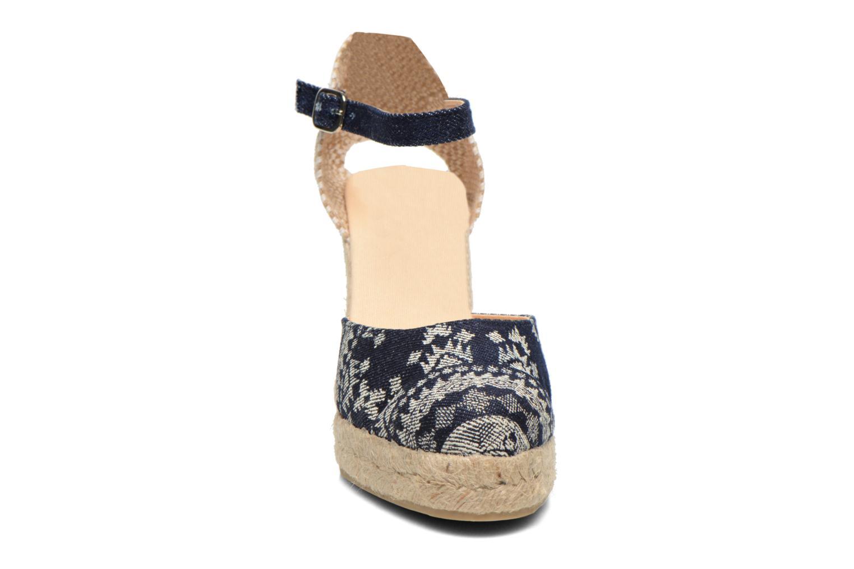 Sandali e scarpe aperte Desigual Silla Azzurro modello indossato