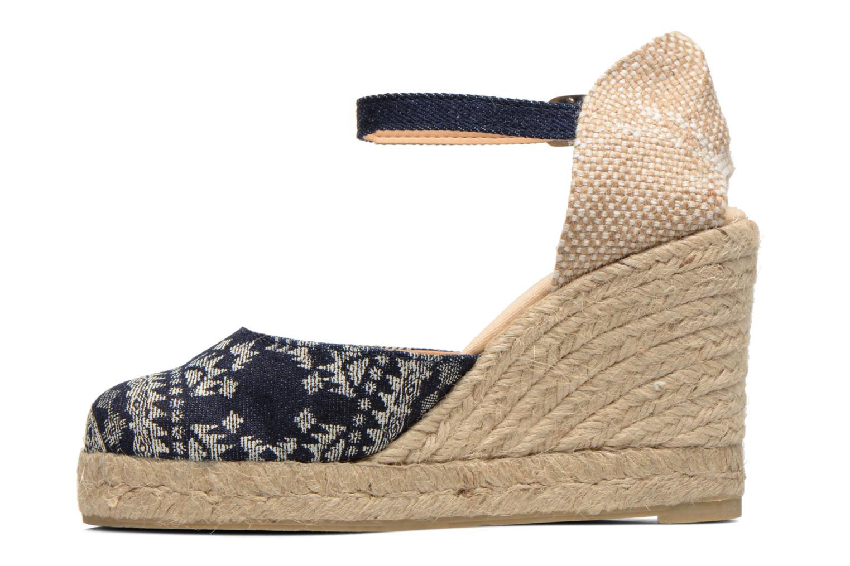 Sandali e scarpe aperte Desigual Silla Azzurro immagine frontale
