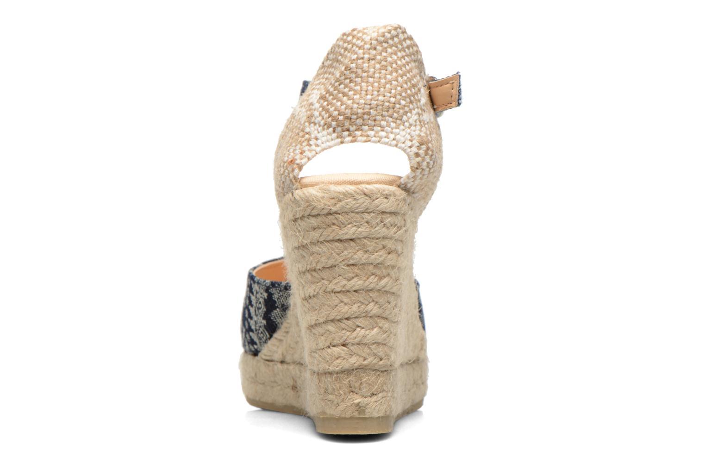 Sandali e scarpe aperte Desigual Silla Azzurro immagine destra