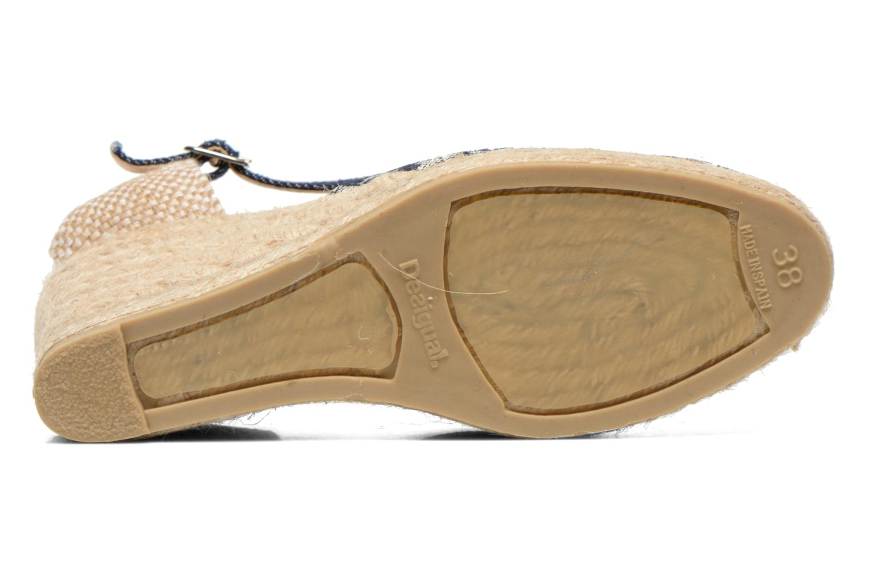 Sandali e scarpe aperte Desigual Silla Azzurro immagine dall'alto