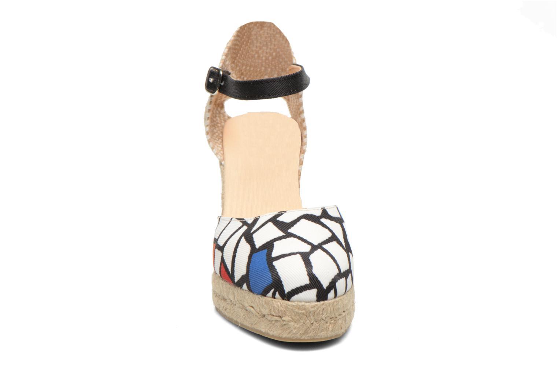 Sandalen Desigual Silla weiß schuhe getragen