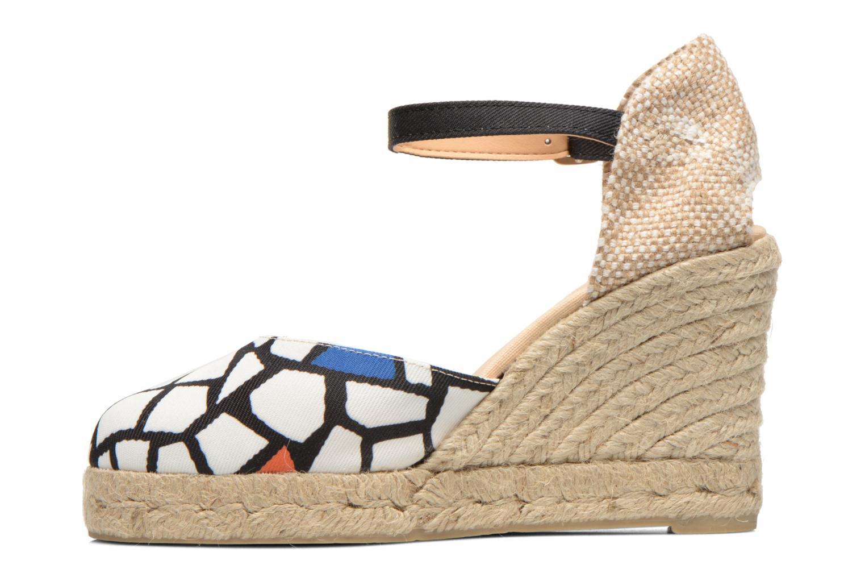 Sandalen Desigual Silla weiß ansicht von vorne